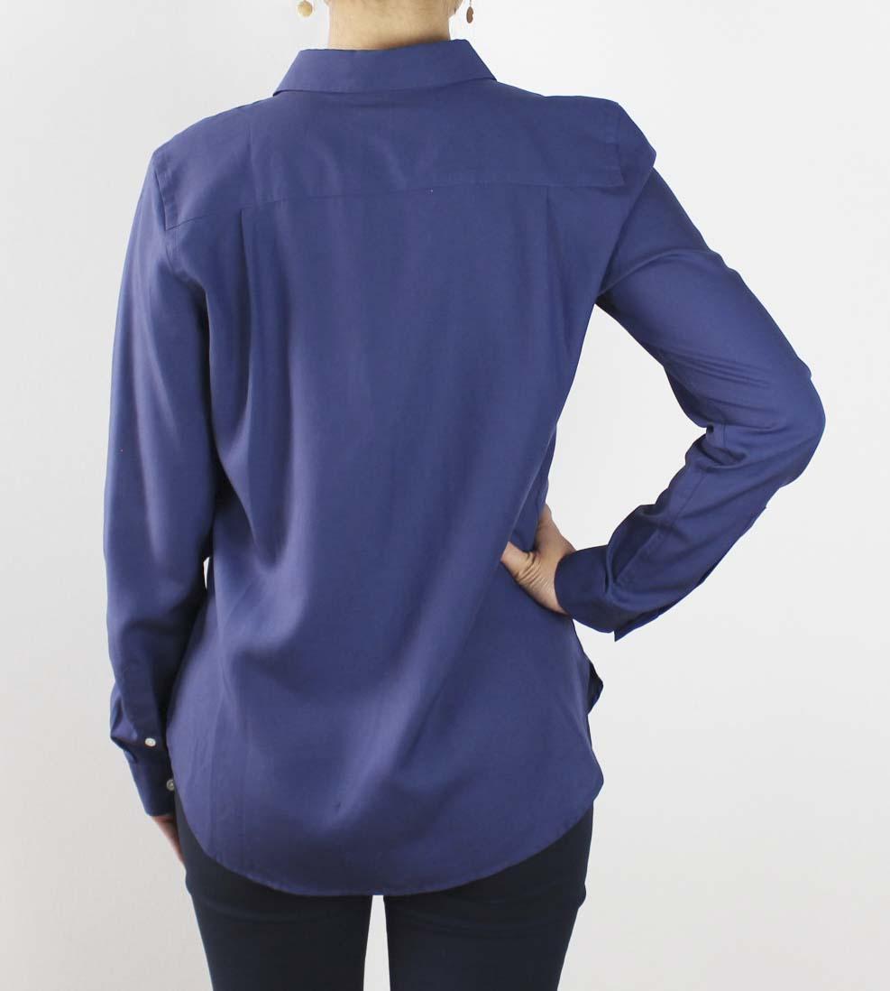 Tence skjorte mørkeblå