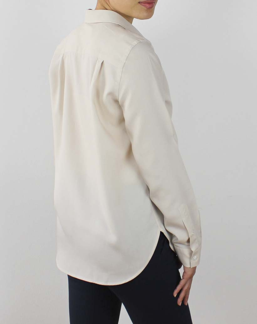 Tencel skjorte beige