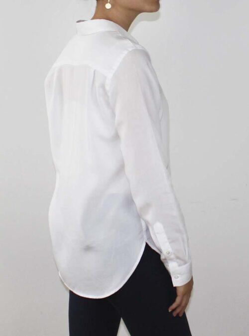 Tencel skjorte hvid